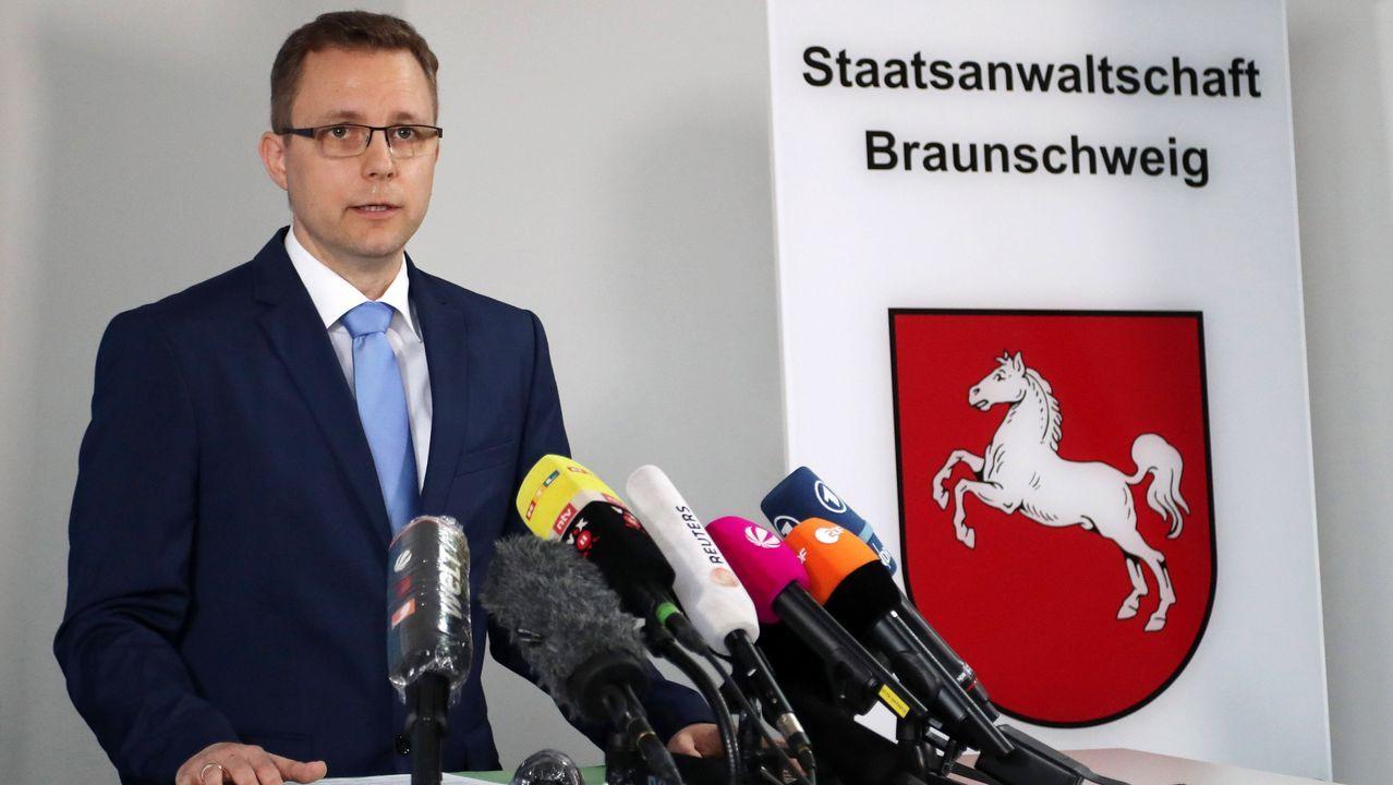 El portavoz de la Fiscalía alemana, Hans Christian Wolters, solo confirmó que investigan al sospechoso
