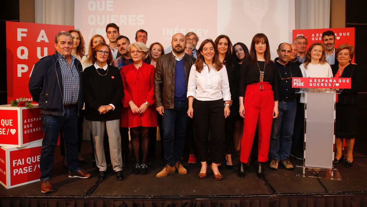 La campaña arranca en A Coruña con polémica sobre los debates.Detalle del mensaje denunciado en uno de los parquímetros de la ORA del Concello da Coruña