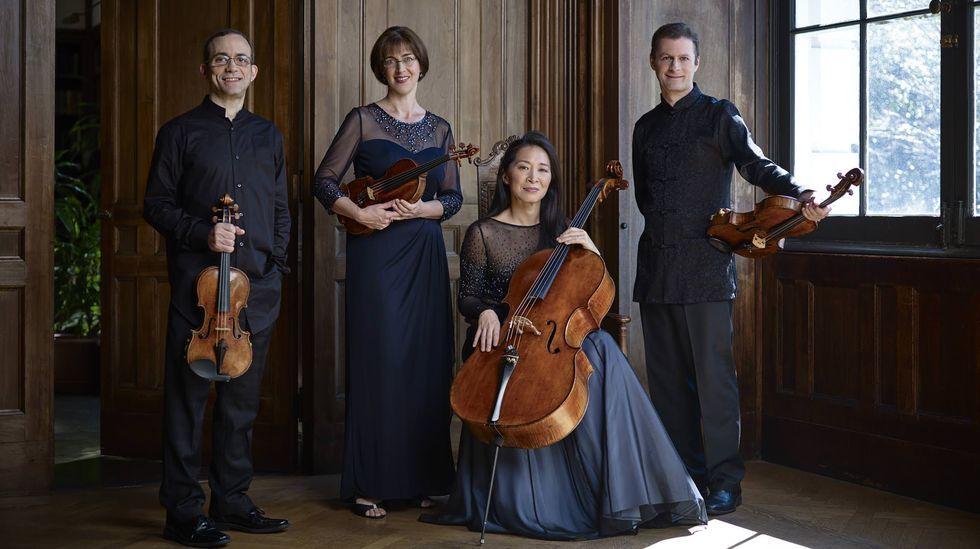 berta.El Brentano String Quartet actuará en el Círculo das Artes