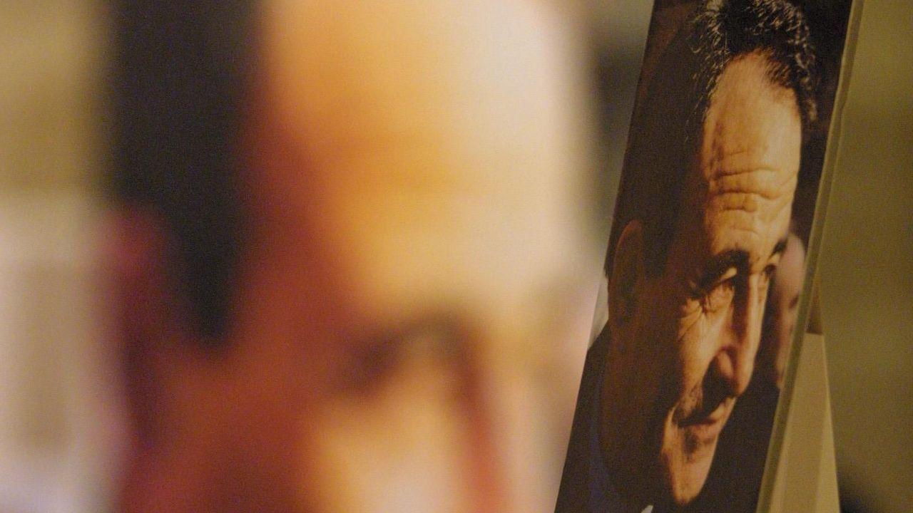 El empresario ourensano Eduardo Barreiros con Fidel Castro en Cuba, en los años ochenta