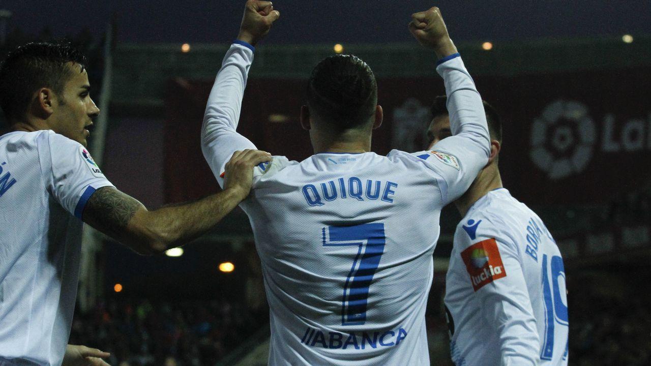 Lo mejor del Granada - Deportivo, en imágenes