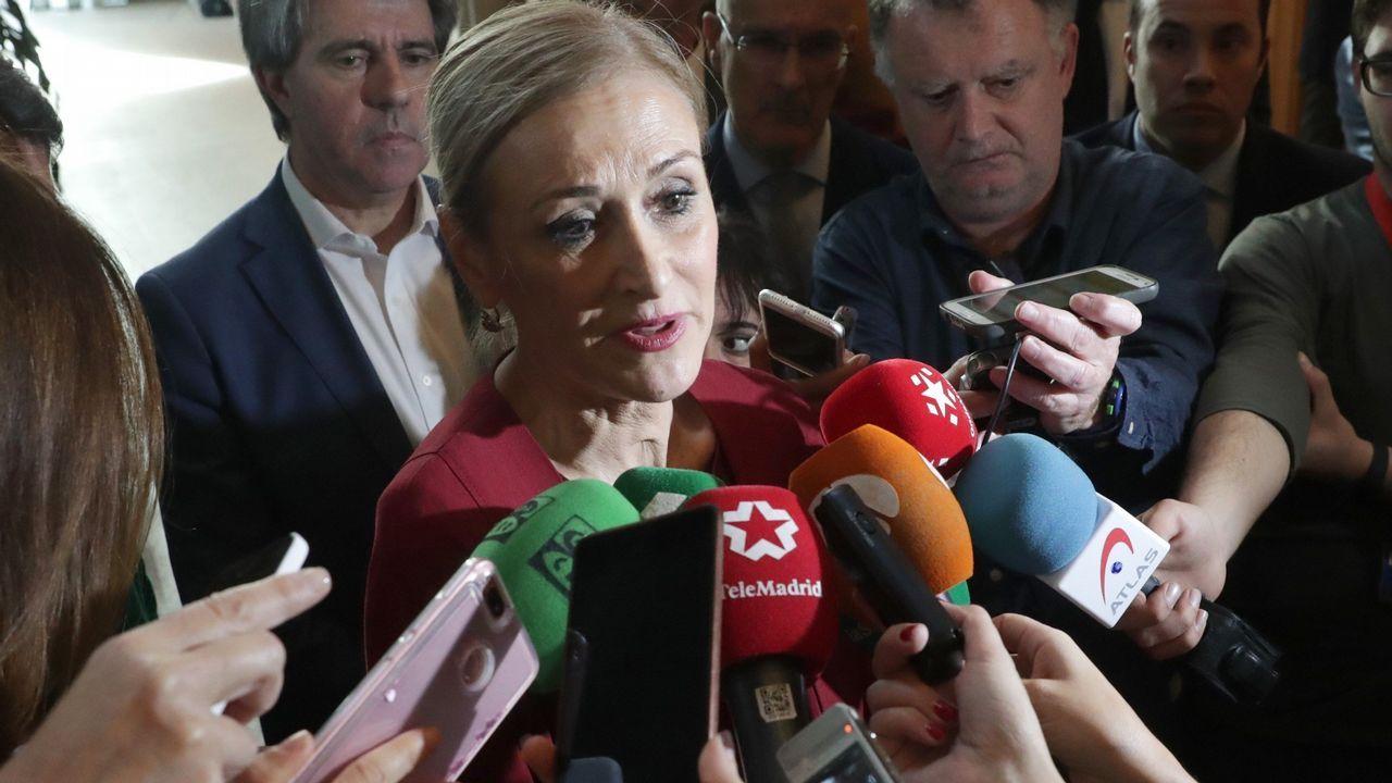 Cristina Cifuentes: «No pienso dimitir. He dicho la verdad»