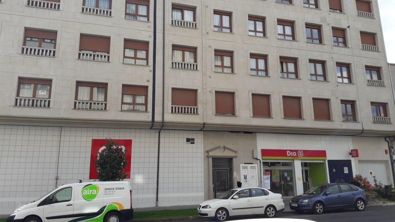 La fuga de gas se produjo en un edificio de la avenida de Monforte