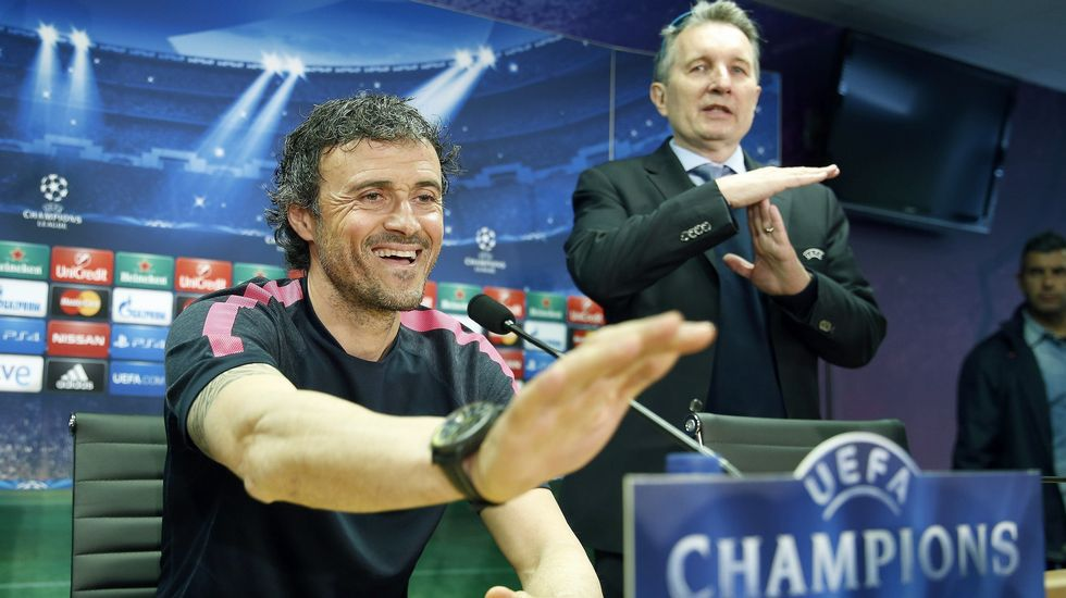 Luis Enrique no se ve favorito para la Champions