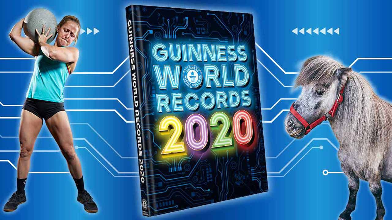Portada del libro «Guiness World Records 2020»