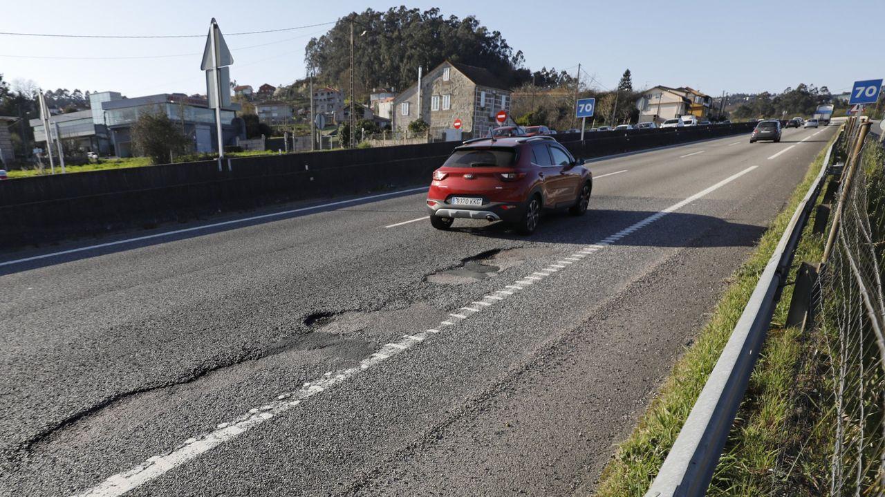 Autovía A-55 en Semana Santa durante la alarma sanitaria por el coronavirus