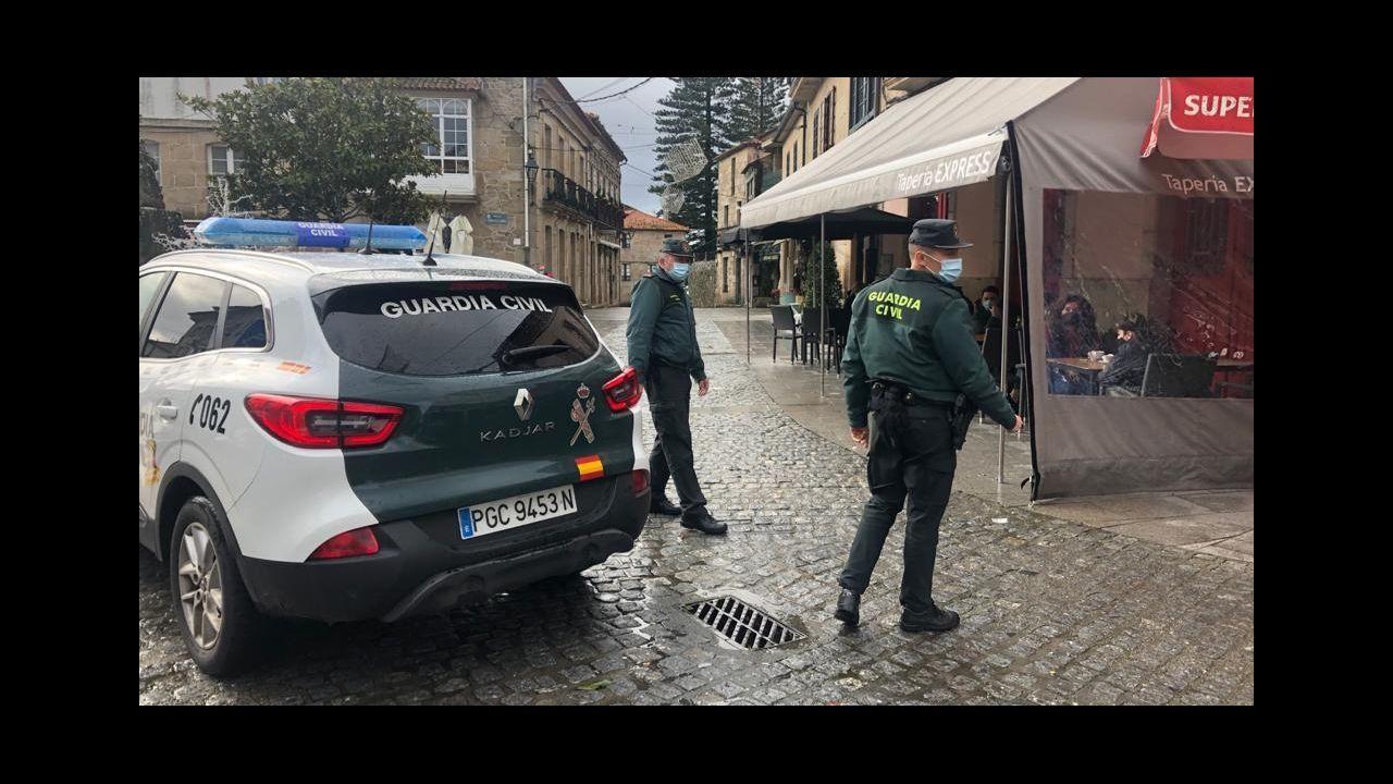 Comuneros denuncian estragos de motos, quads y todoterrenos en los montes.Instalaciones de la Policía Local de Vigo.