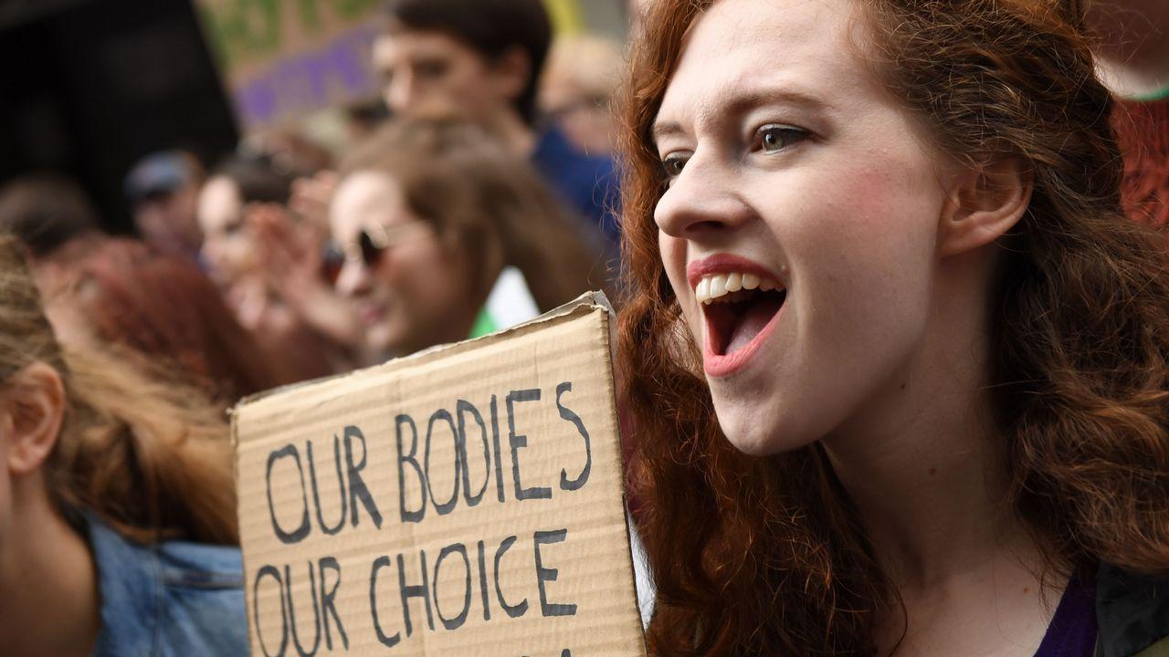 «Marcha por la elección», en Irlanda