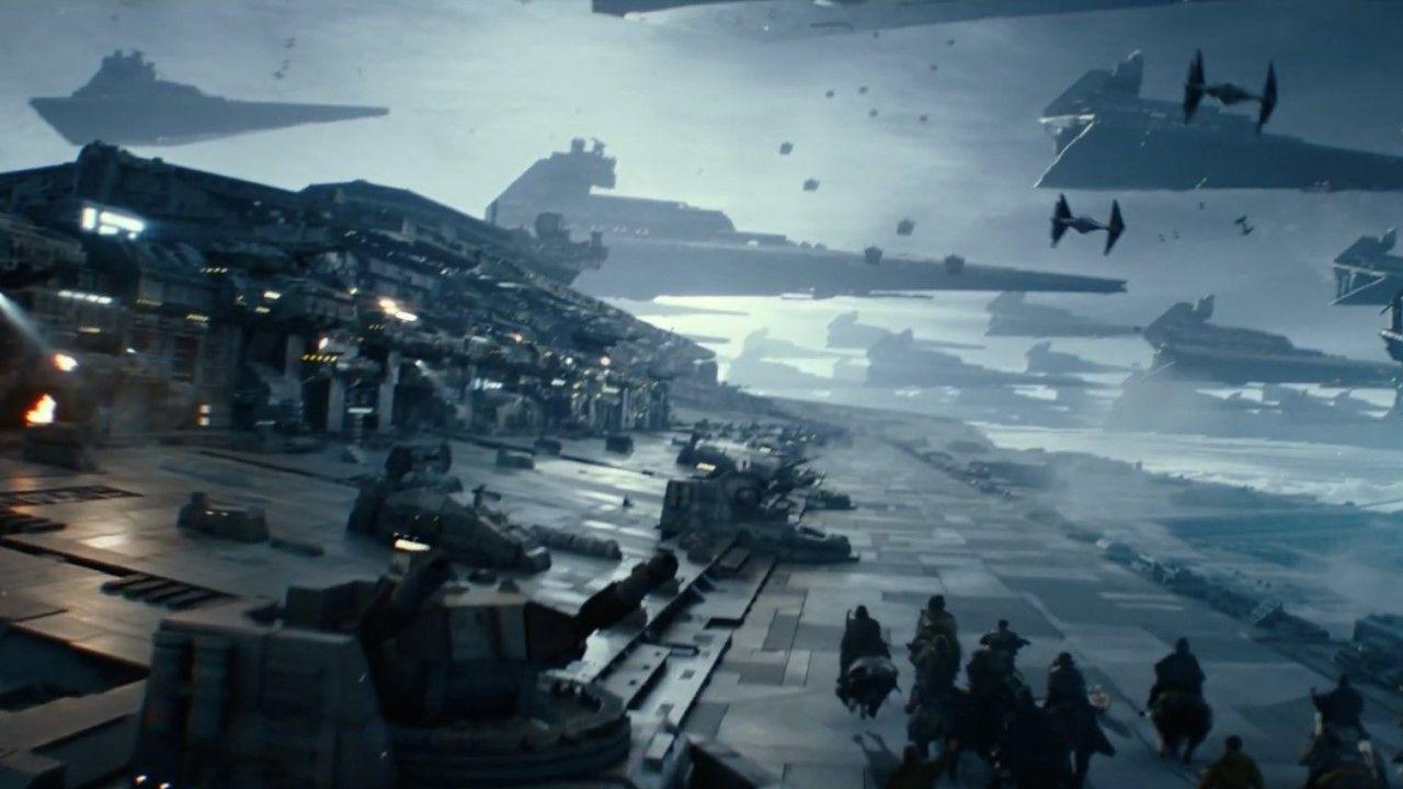 «Star Wars: El Ascenso de Skywalker», nuevo tráiler oficial.Representación orixinal dunha serea ave e muller