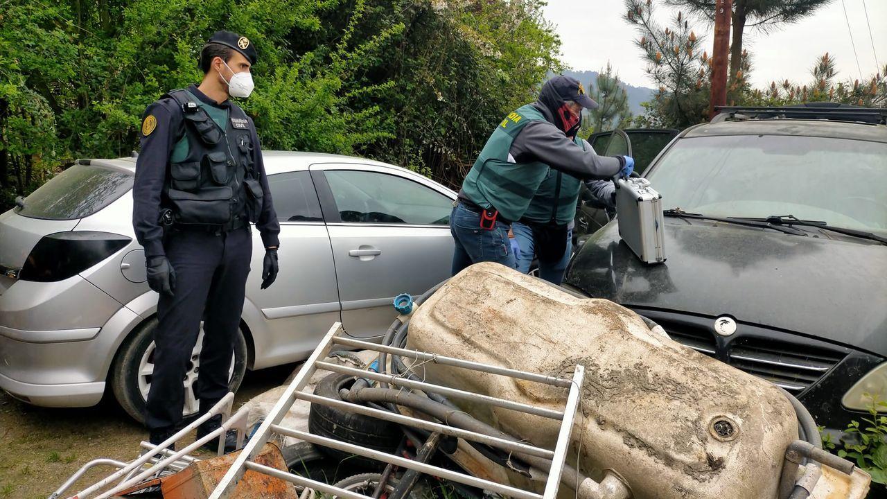 Seis detenidos en una operación contra una banda de robos en Ourense.En O Carballiño, el cribado del sábado no detectó ningún positivo