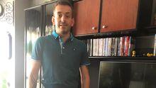 Borja Castellanos, trabajador afectado por un ERTE que todavía no ha cobrado