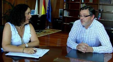 Vázquez resaltó en su visita la elevada inversión para construir el nuevo colegio.
