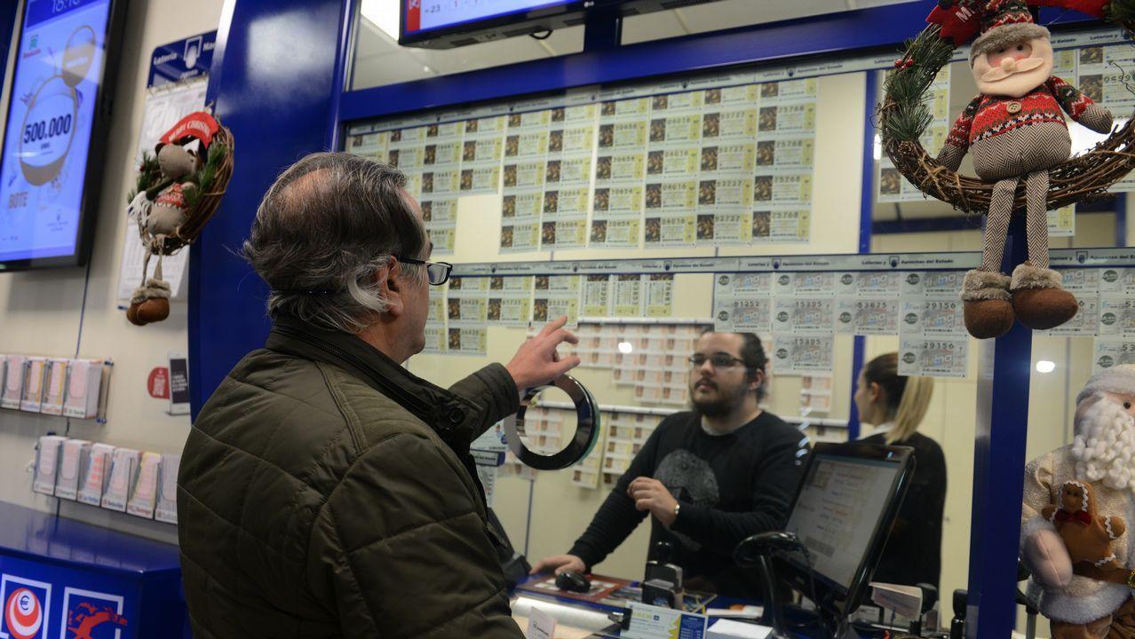 Billetes de la Lotería de Navidad em Madrid