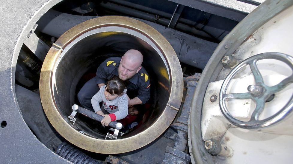Así es un submarino por dentro