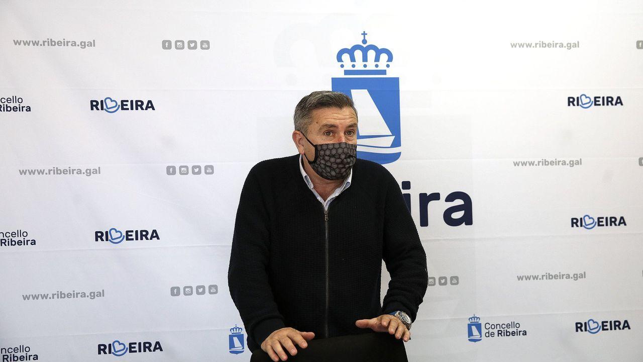 Los rincones de Barbanza que triunfan en las redes sociales.Manuel Ruiz, alcalde de Ribeira