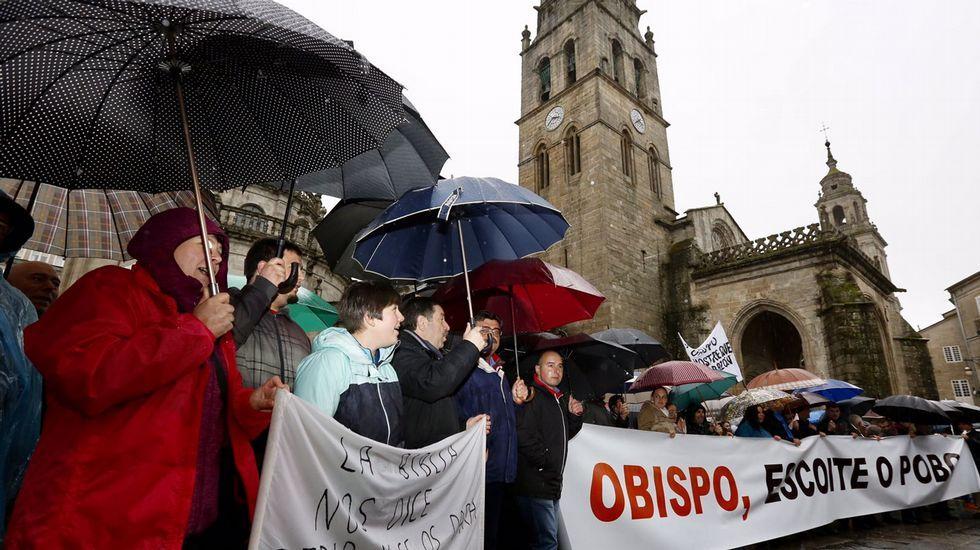 La protesta, en imágenes