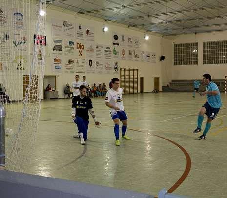 Complicaciones en la A-6.Borja, en la acción del gol del Ribeira Fonsagrada.
