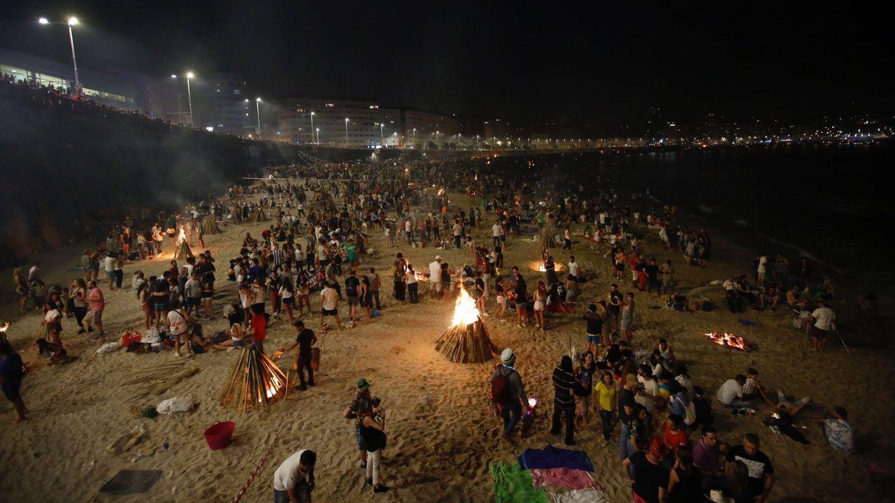 Celebración del Arde Lucus en el año 2018