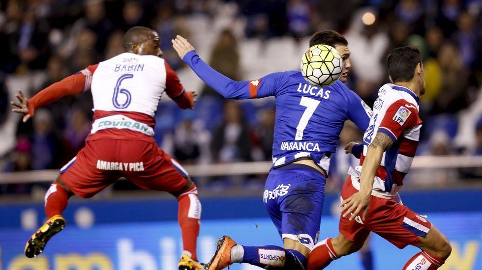 El Deportivo-Granada, en fotos