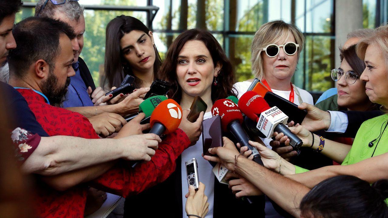 Juan Trinidad (Ciudadanos), elegido presidente de la Asamblea de Madrid.Isabel Díaz Ayuso es la candidata del PP a presidir la Comunidad de Madrid