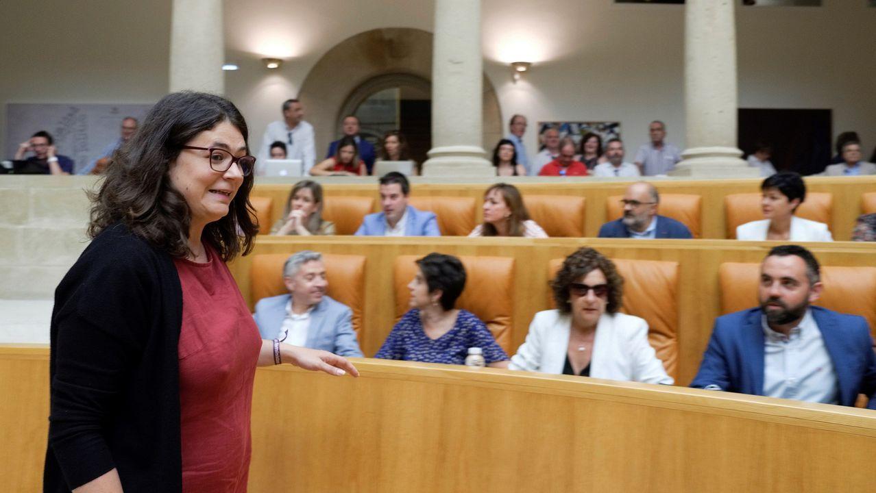Andreu necesita para ser investida el voto de  Raquel Romero (imagen) de Podemos, frente a los doce del PP y los cuatro de Ciudadanos.
