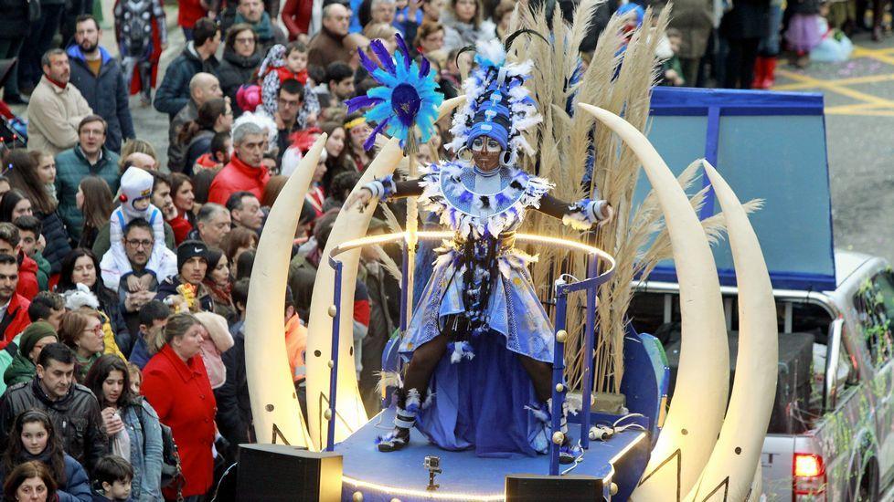 Desfile en Santiago
