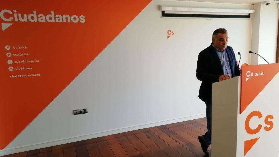 Laureano Bermejo, secretario de Organización de Ciudadanos en Galicia y concejal de Ourense