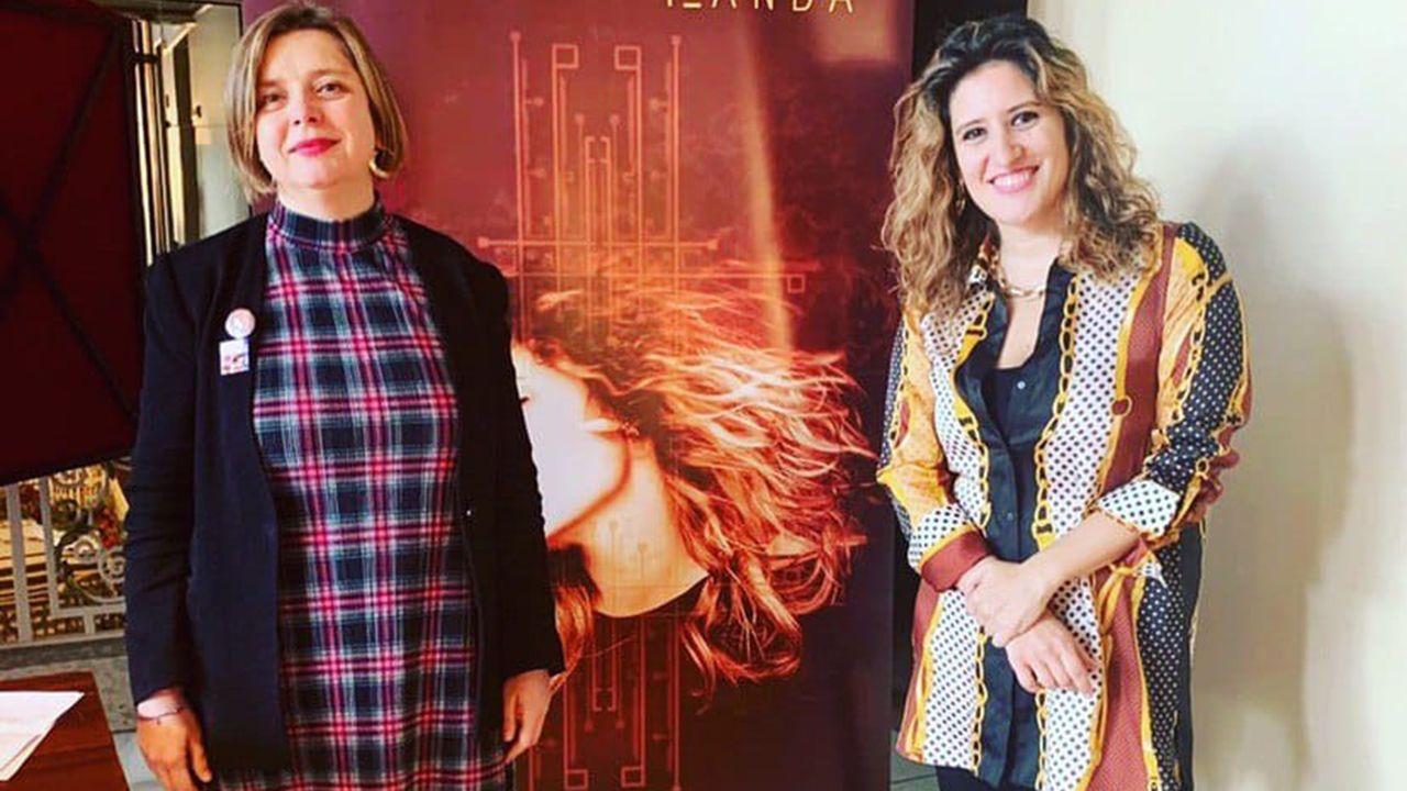 Ana Taboada e Isabel Santiago