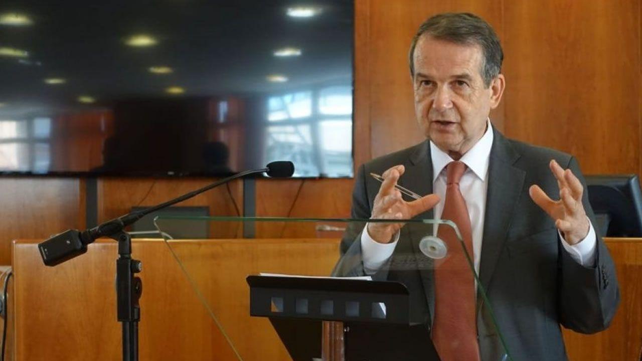 El exministro de Hacienda, Cristobal Montoro, durante su etapa en el Gobierno