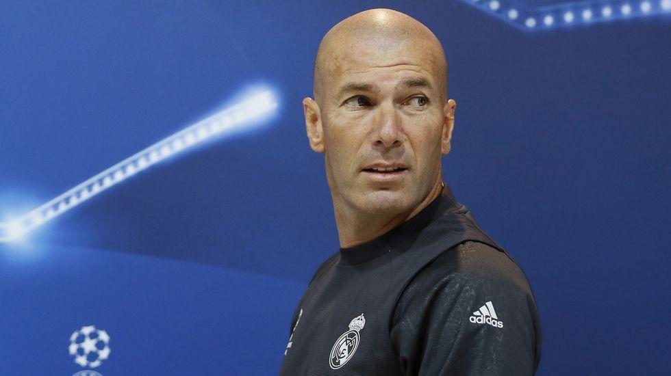 Zidane: «Todos los jugadores están bien para la final y tengo que elegir quién se queda fuera»