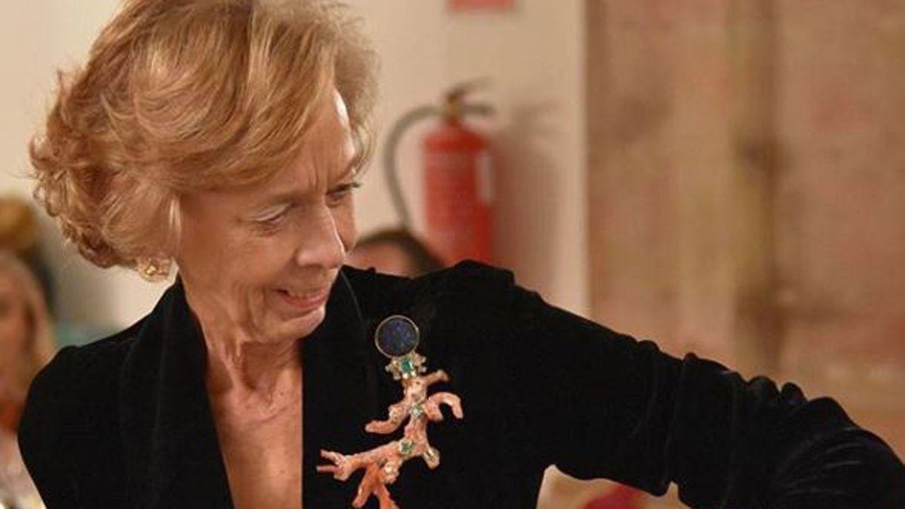 Último adiós a Montserrat Caballé en Barcelona.Pilar González-Quirós
