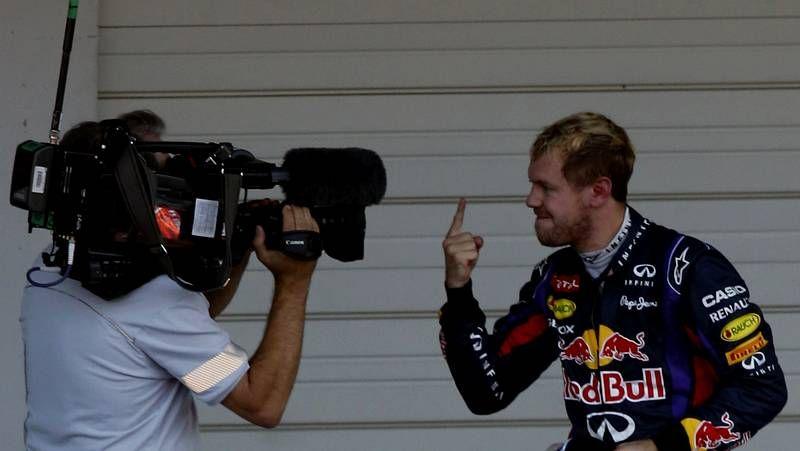 Las imágenes del Gran premio de Suzuka de Fórmula 1.Massa, en su despedida de Ferrari