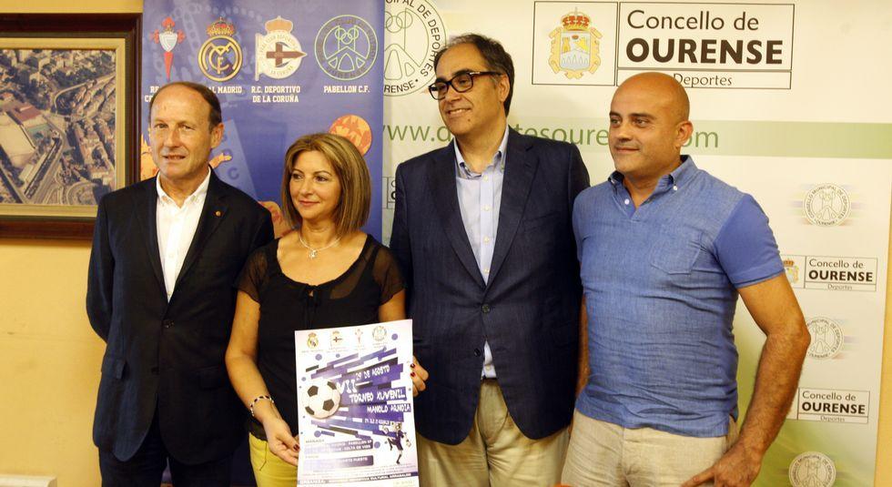 El Pabellón sigue dirigido por Dopazo, García y Figo.