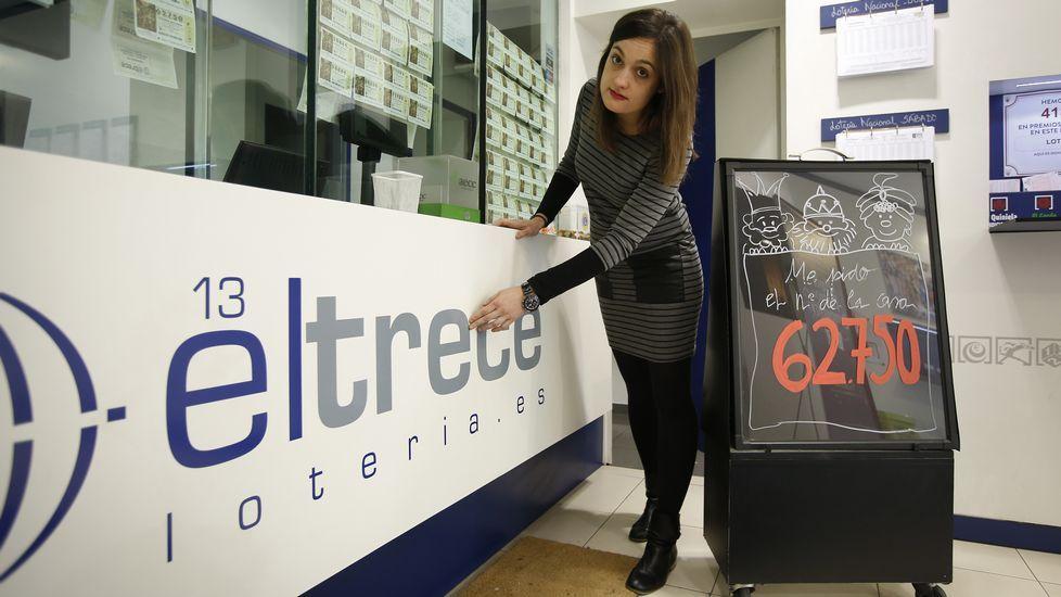La Lotería de Navidad, en imágenes.J.J.Guillen | EFE