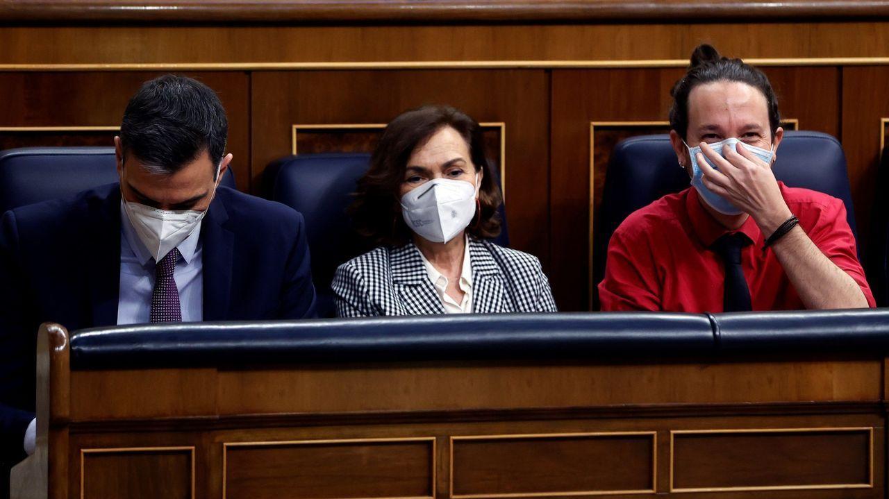 En directo: La última sesión de control al Gobierno con Pablo Iglesias.La ministra de Trabajo, Yolanda Díaz