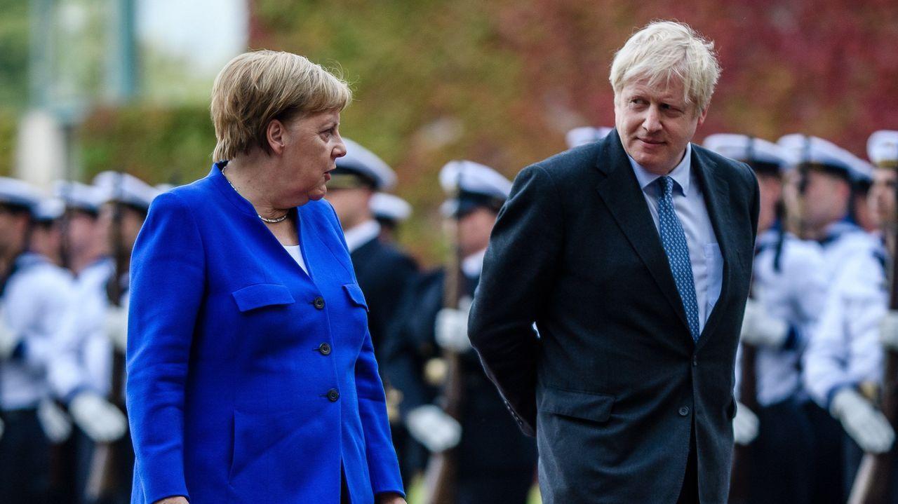 Merkel y Johnson mantuvieron posiciones encontradas con respecto al «brexit»