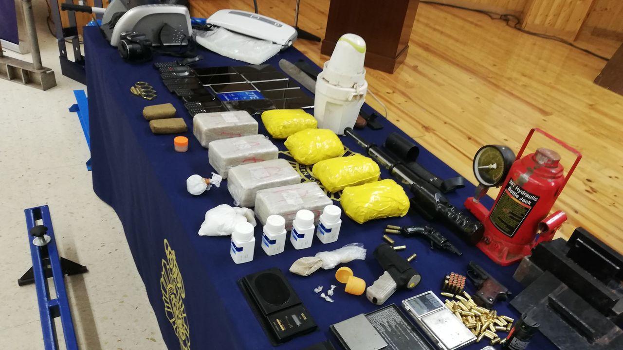 Incautación de 5 kilos de heroína en un nuevo golpe al narcotráfico en Galicia