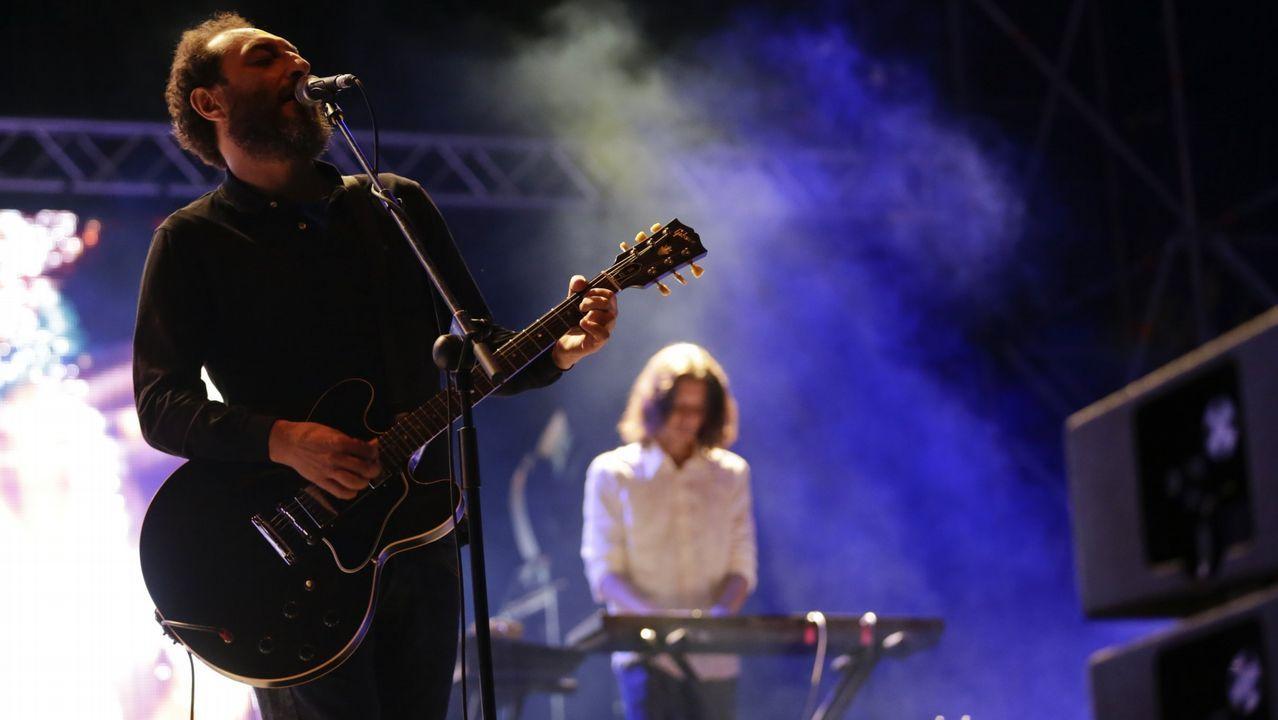 Concierto de David Guetta en el festivalO Son do Camiño.LOS PLANETAS EN SU ACTUACIÓN DENTRO DEL FESTIVAL NOROESTE EN EL 2015