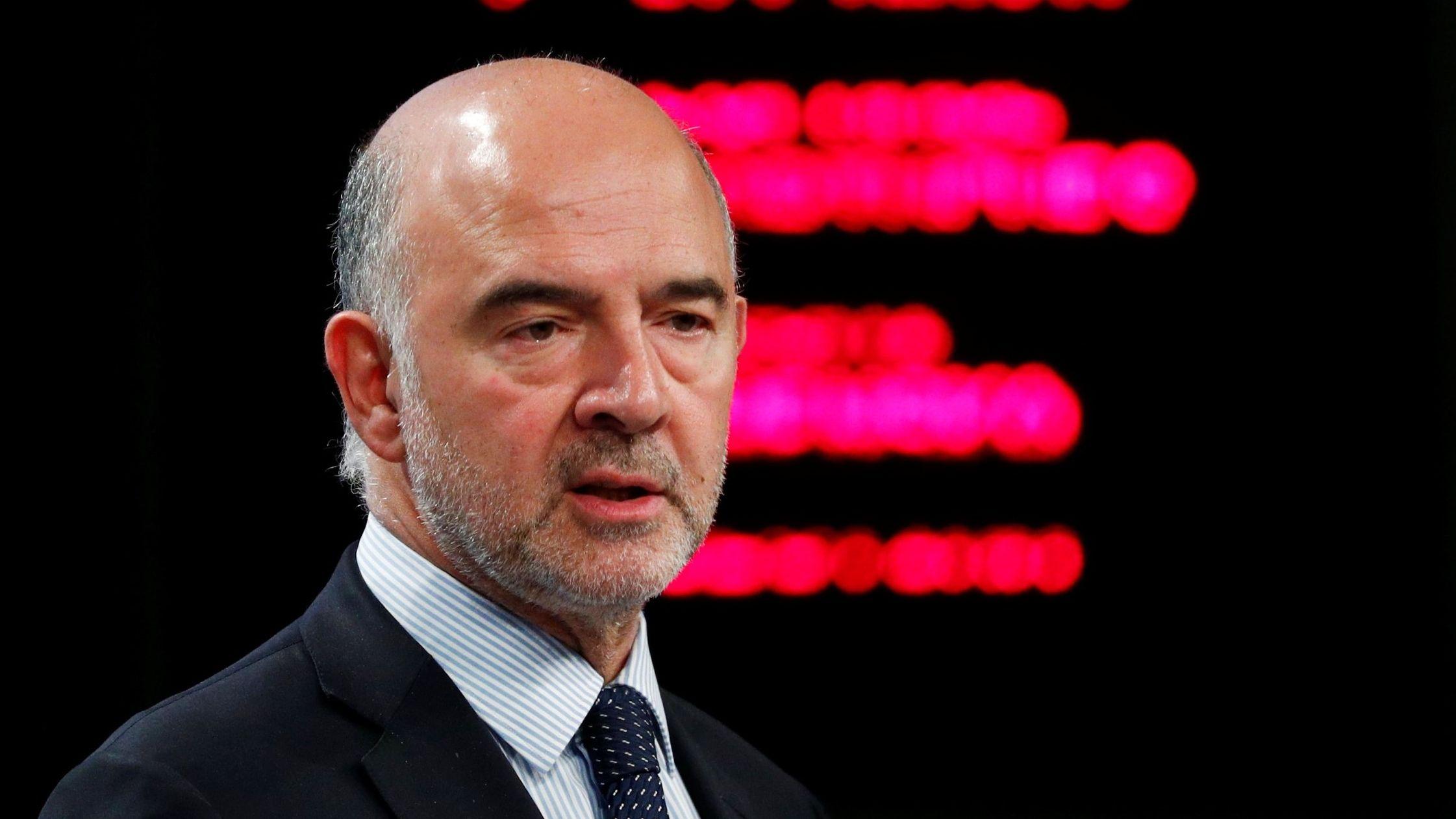 Pierre Moscovici, comisario de Asuntos Economícos y Financieros