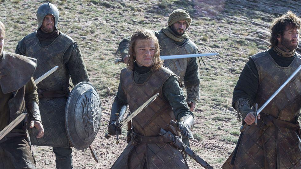 Ned Stark, ante la Torre de la Alegría