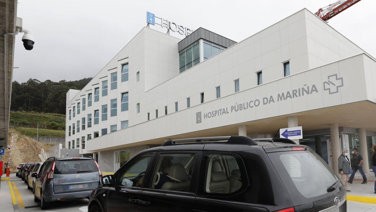 La empresa de A Ulloa que procesa 7 millones de kilos de castaña.Controles de tráfico en Monforte establecidos al decretarse el cierre perimetral del municipio