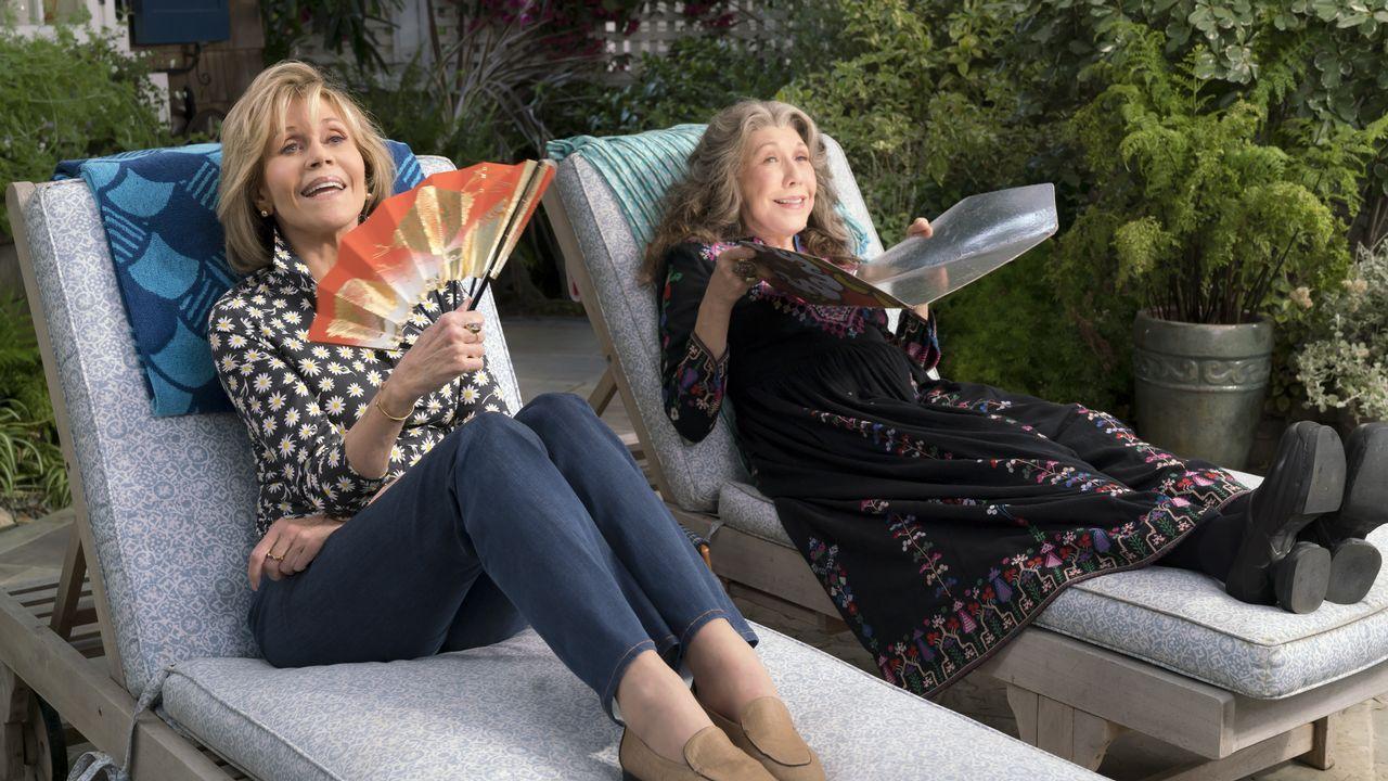 Fonda y Tomlin protagonizan «Grace y Frankie»