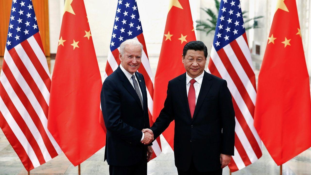 Biden y Xi, en el 2013, cuando el primero era vicepresidente de EE.UU.
