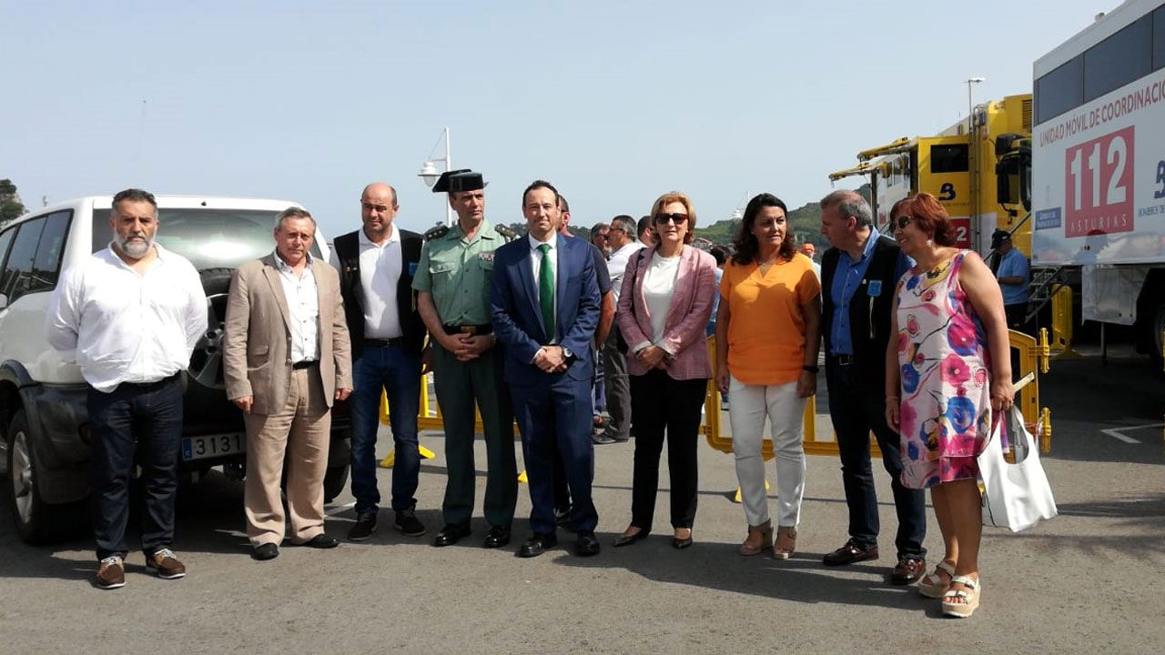 Ola de calor en Asturias.Responsables del dispositivo de seguridad para el 82 Descenso del Sella en Ribadesella