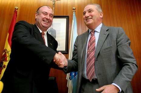 La ampliación del contrato se firmó en recta final del mandato de Blanco y Parajó.