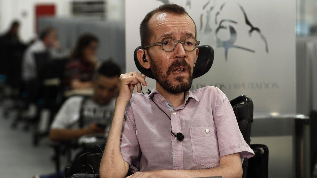Las declaraciones de Echenique sobre la estrategia de negociación de Sánchez.Homenaje en Oñate al etarra Xabier Ugarte, uno de los secuestradores de José Antonio Ortega Lara