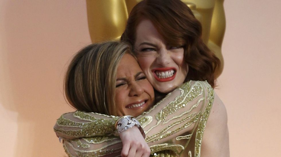 Emma Stone y Jennifer Aniston