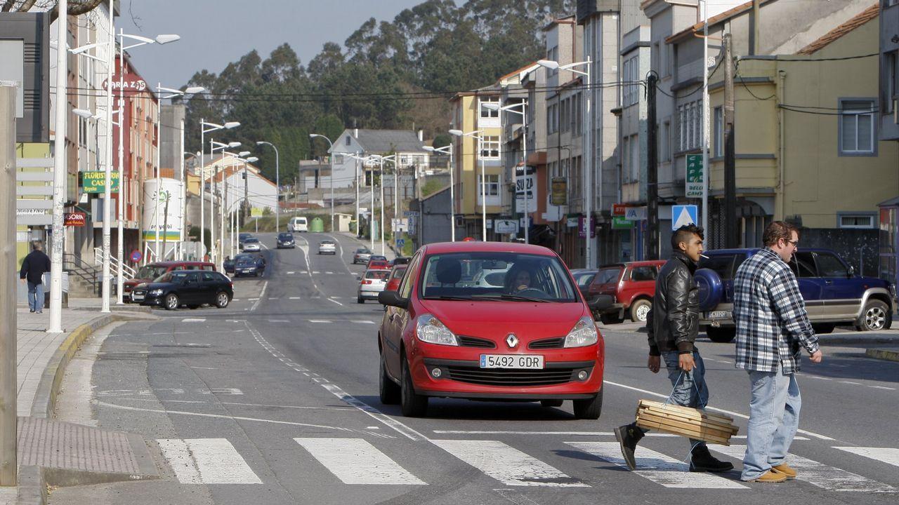 Las secuelas del paso de la borrasca Ana por Santiago y comarca