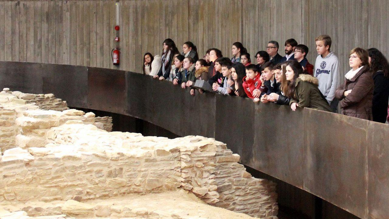 Galicia estrena en Mugardos un museo con baños romanos de hace 20 siglos