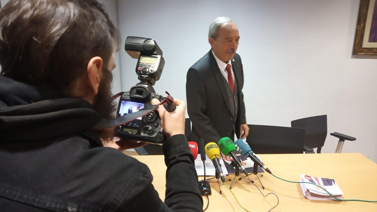 Wenceslao López, candidato del PSOE a la alcaldía